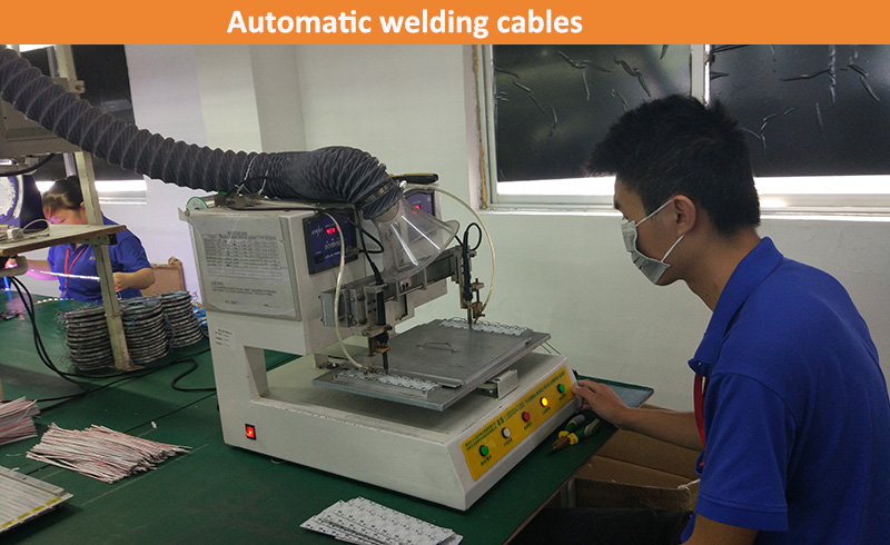 Automatic welding cables (up-energy lighting)