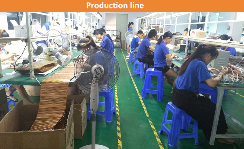 Production line (up-energy lighting)