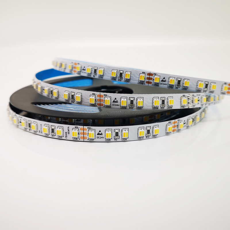 3527 120LED Dimmable Color Temperture strips