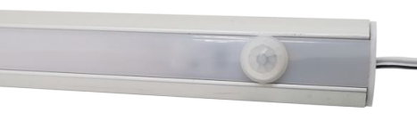 Installation of built-in motion sensor switch