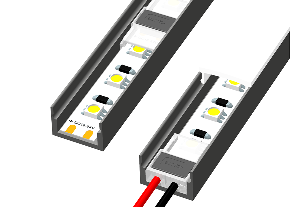 BC Connector for LED strips