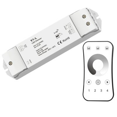 RF Wireless single color dimmer Remote Receiver