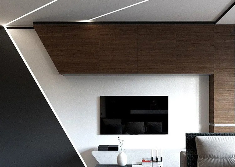 surfaced mounted linear lighting
