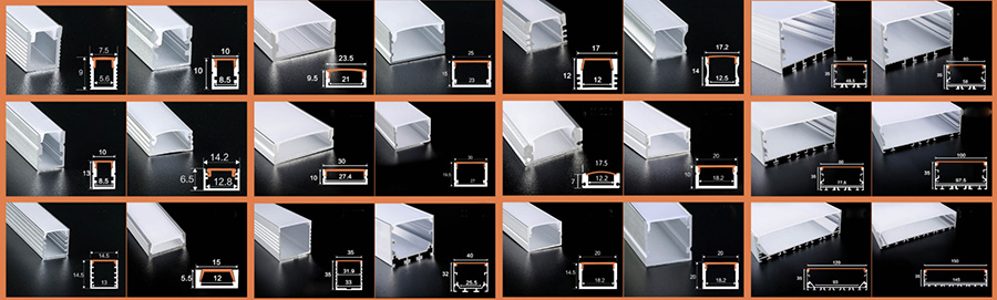 LED profiles suppliers